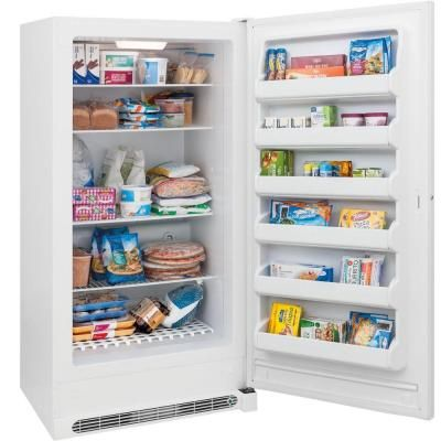 Frigidaire 20 cu. ft. Frost Free Upright Freezer in White, ENERGY STAR-FFFH20F2QW - The Home Depot