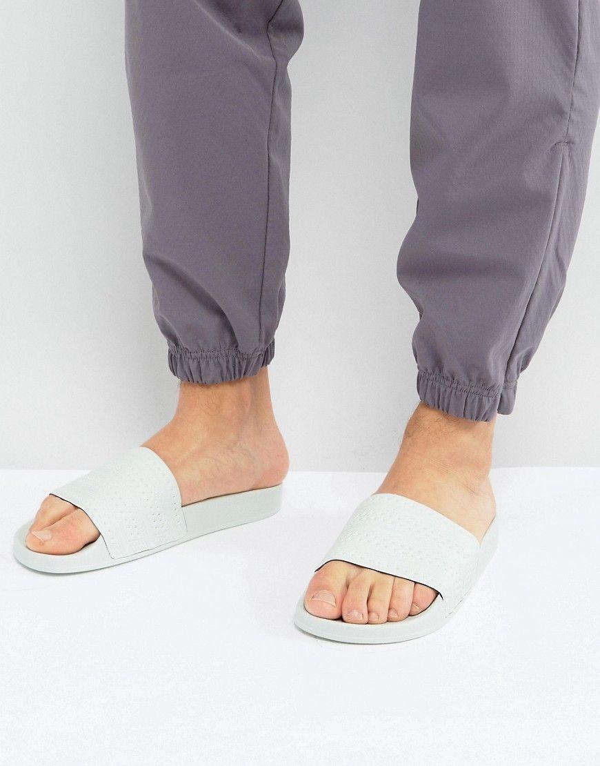 057a5d7aa10b72 ADIDAS ORIGINALS ADILETTE SLIDES IN GREEN BA7540 - GREEN.  adidasoriginals   shoes