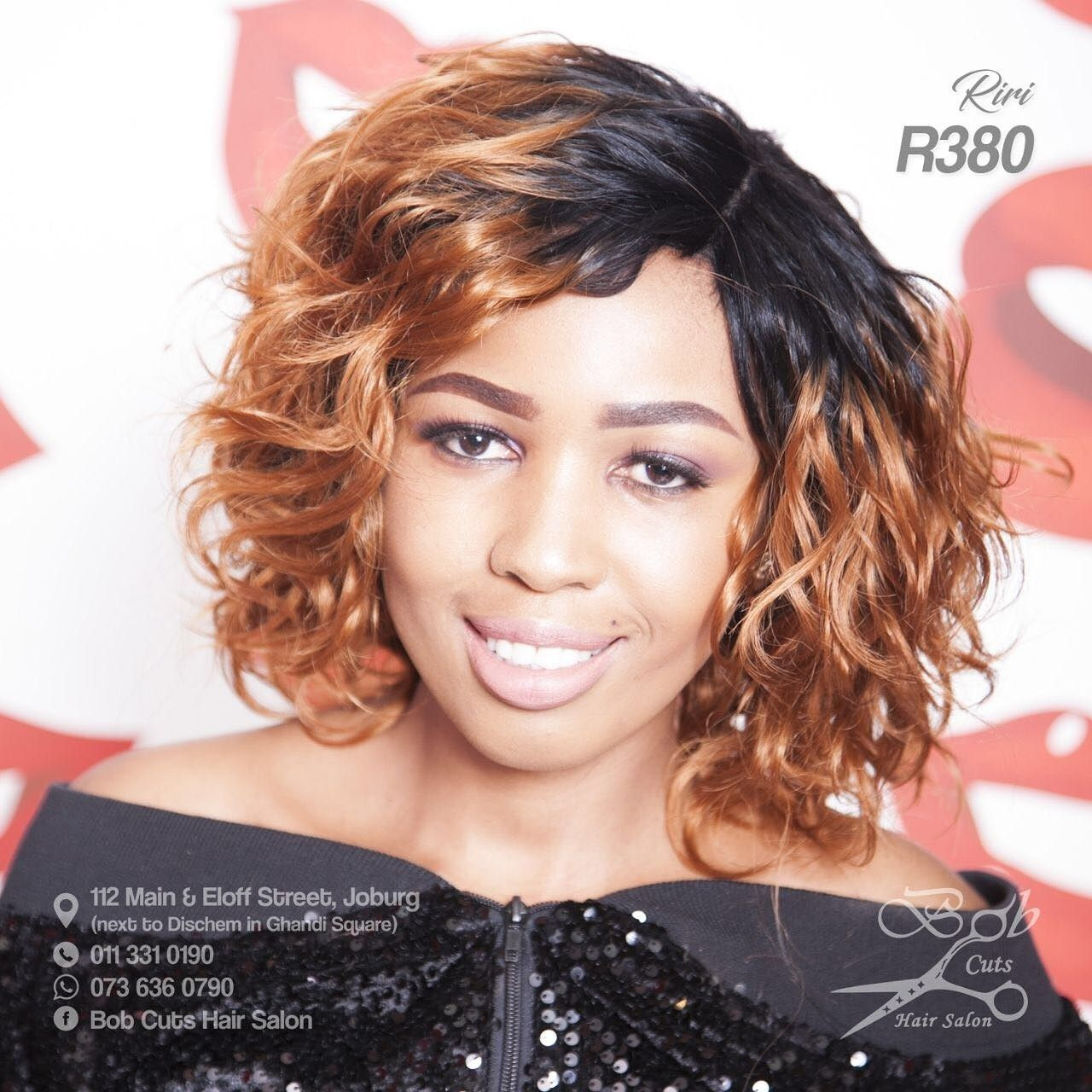 Another Look At Our Riri Wig Get It Today For R380 As A Bonus Get 50 Off Of Our Colour Changing Bobs Haircuts Color Changing Nails Hair Salon