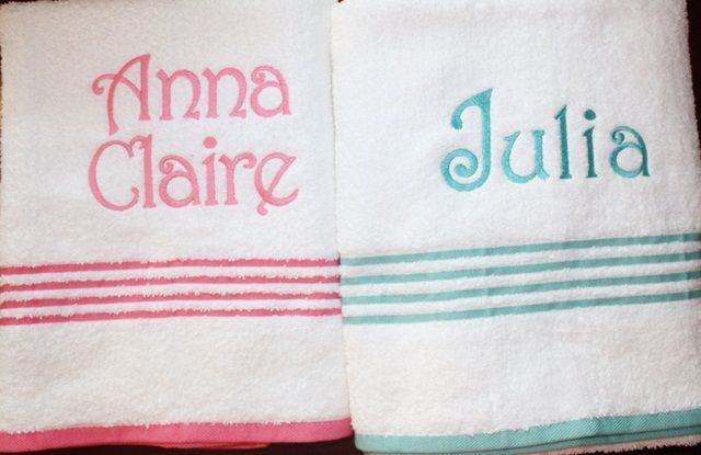 Very good tutorial for embroidering on towels- because someday i hope to have a machine that will allow me to do this