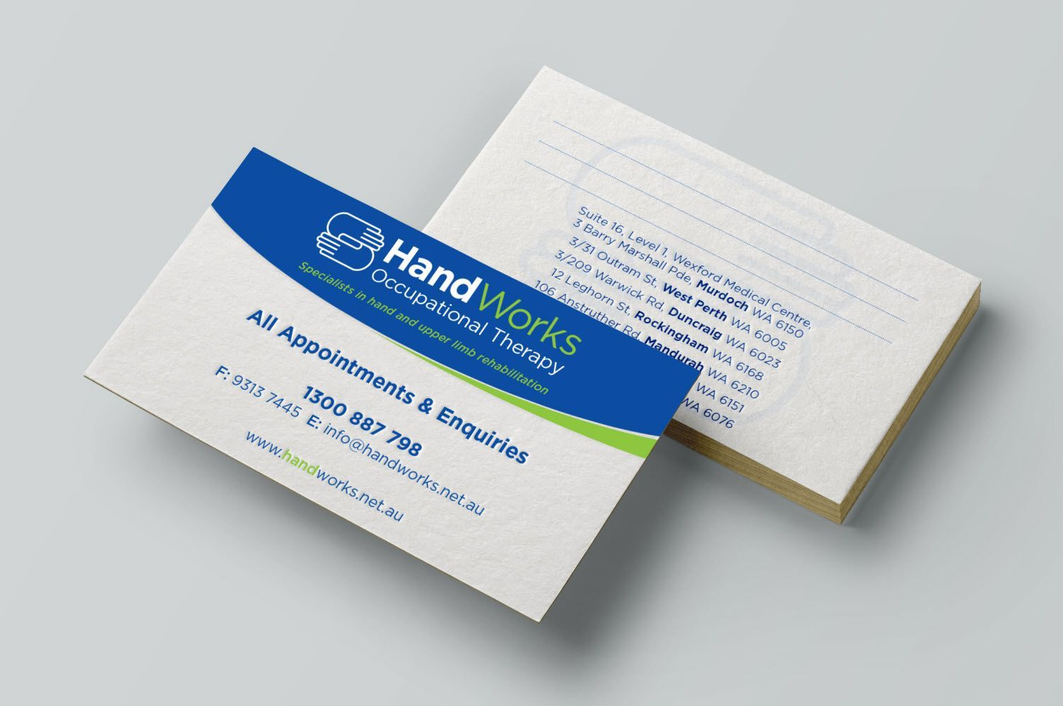 Design Templates Business Cards Perth