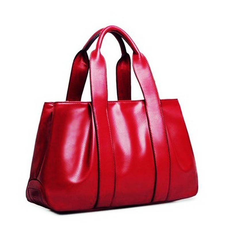 6 Colors Women s Waterproof Leather Casual Handbag Large Tote Cross-body  Messenger Shoulder Bag 388ee2be7d
