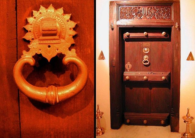 homely idea personalized door knocker. This an old chettinad door restored from a demolished mansion  Don t you love the brass knocker and intricately carved panels Pin by Catherine Benjamin on Traditional doors Pinterest Doors