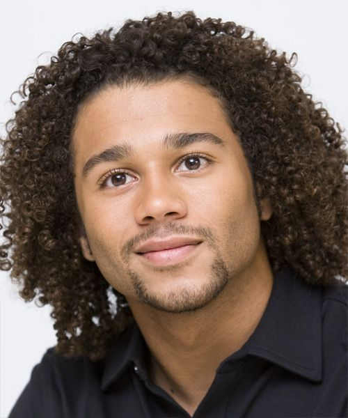 mixed race hair styles men corbin bleu medium curly casual afro hairstyle in 2019 3844 | 041c3990e76ad5f8e044b64b283e3c0b