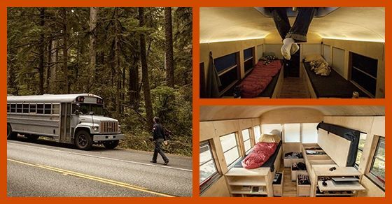 An Architecture Student Decided to Turn a Bus Into a House An Architecture Student Decided to Turn a Bus Into a House