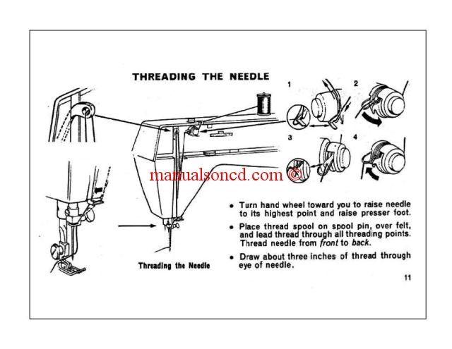 Singer Genie Model   Sewing Machine Instruction Manual  Zig