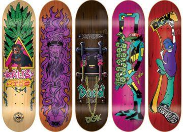 #DGK Homage #Skateboard Decks Series featured on the Go Skate Blog