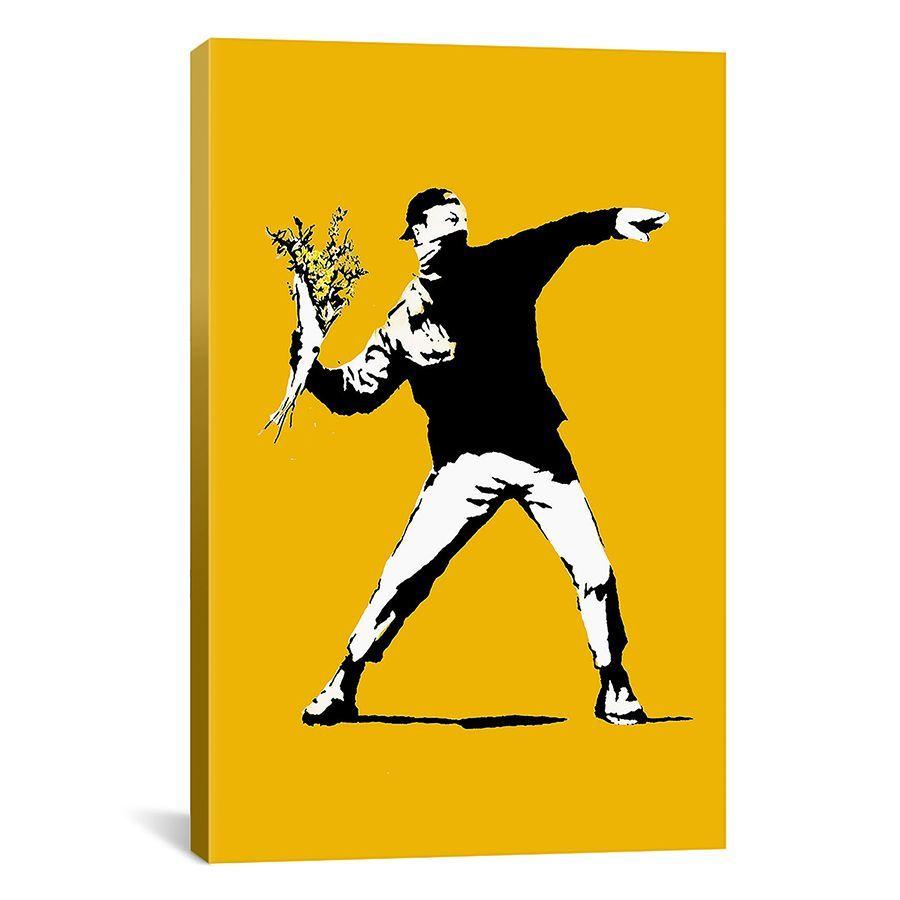 li>Artist: Banksy</li> <li>Title: Flower Chucker</li> <li>Product ...