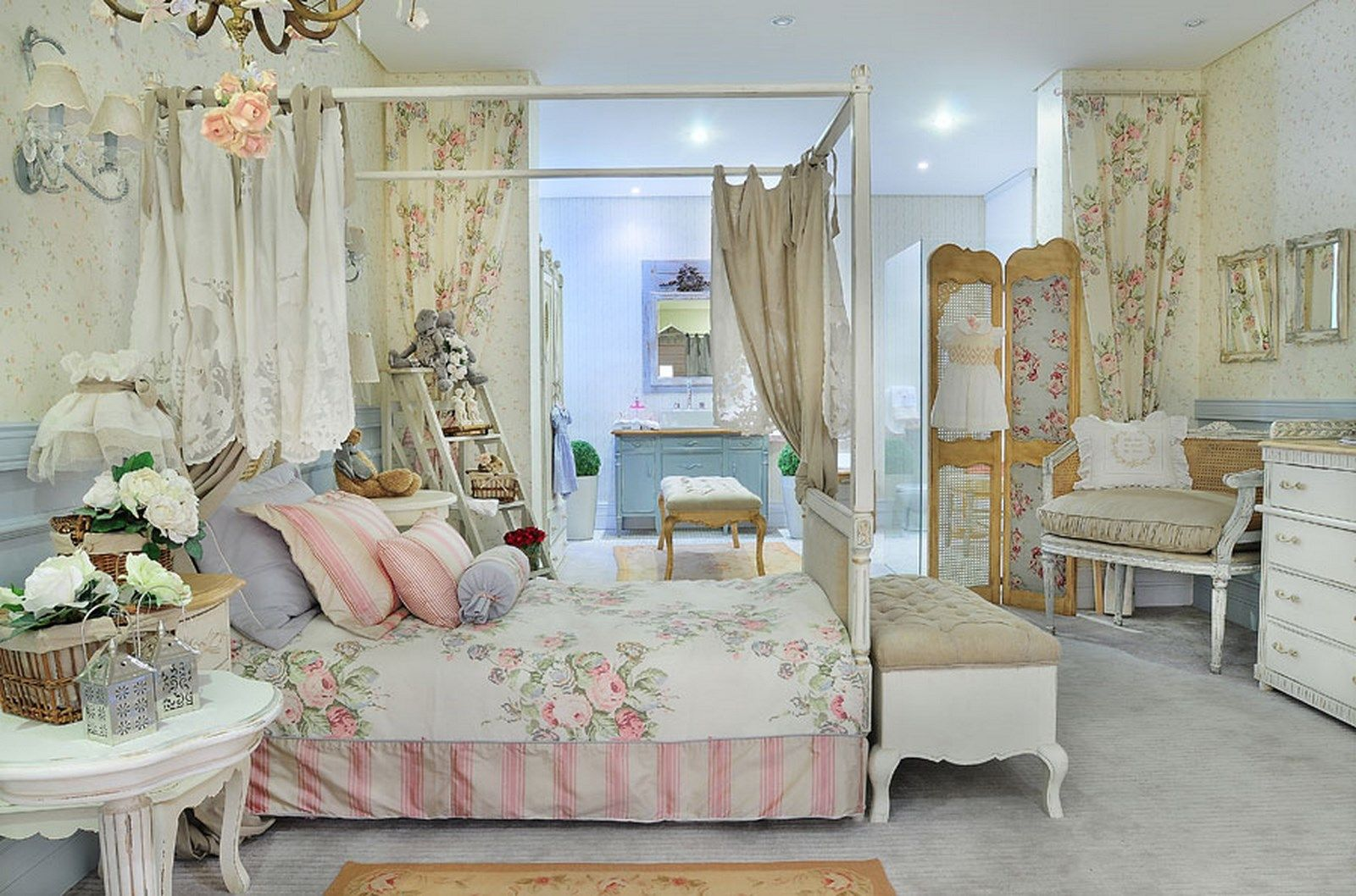 French Themed Girlsu0027 Bedroom | Charming French Inspired Bedroom For Girls  (Copy)