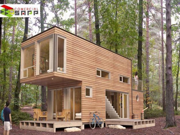 Casa de 4 contenedores 40 pies contenedores en 2019 - Contenedores casas prefabricadas ...