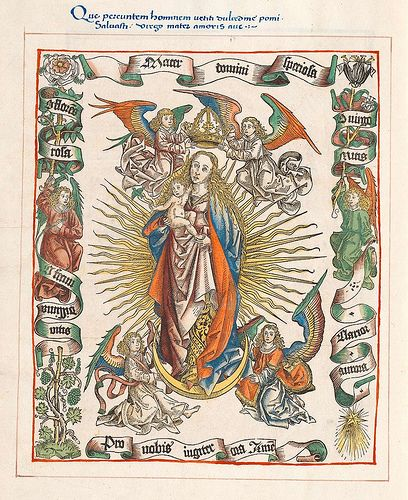 (I presume this is) the Assumption of the Blessed Virgin Mary