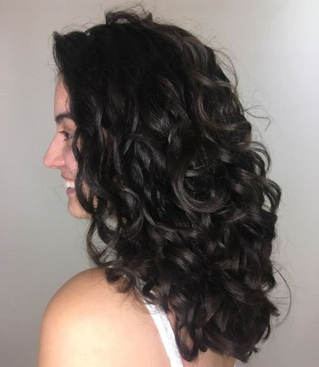 60 Styles and Cuts for Naturally Curly Hair #layeredcurlyhair