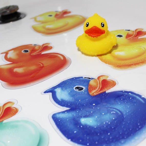 Non Slip Safety Adhesive Duck Bathtub Or Shower Stickers Frosted