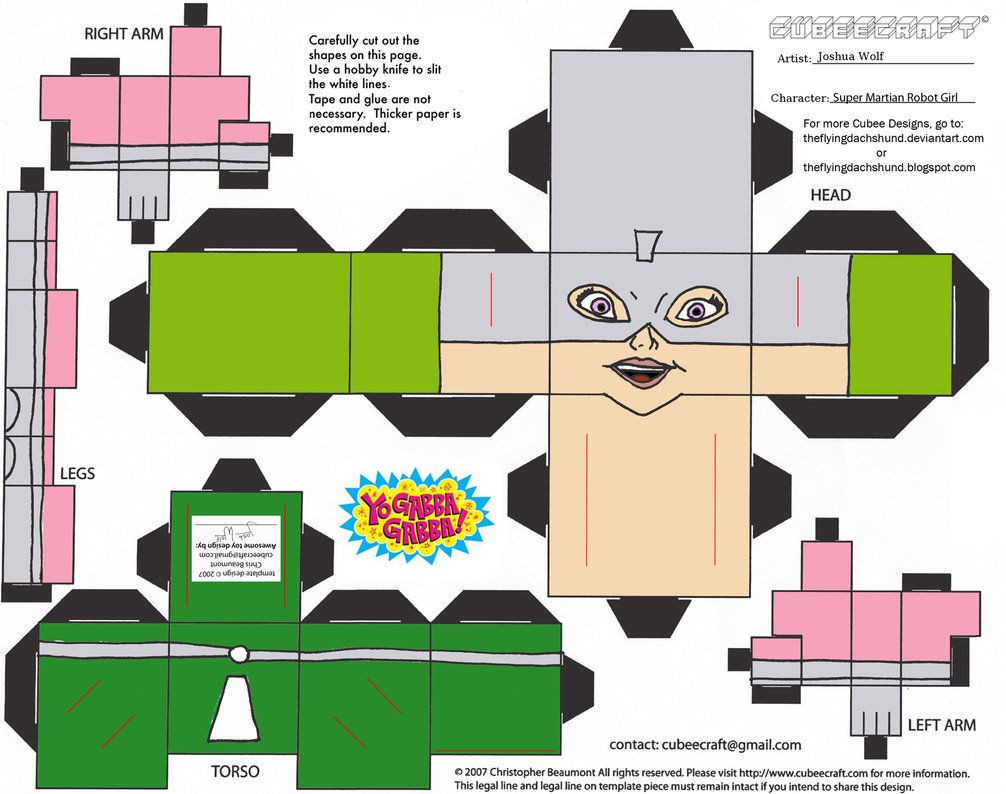 Super Martian Robot Girl Cubee Robot Girl The Martian Super [ 794 x 1006 Pixel ]