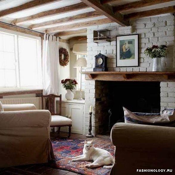 гостинные в деревенском стиле - Поиск в Google