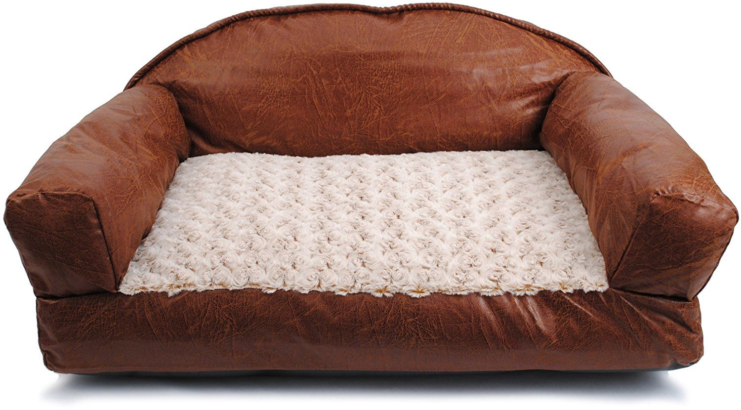 Faux Leather Dog Beds Faux Leather Dog Bed Leather Sofa Bed