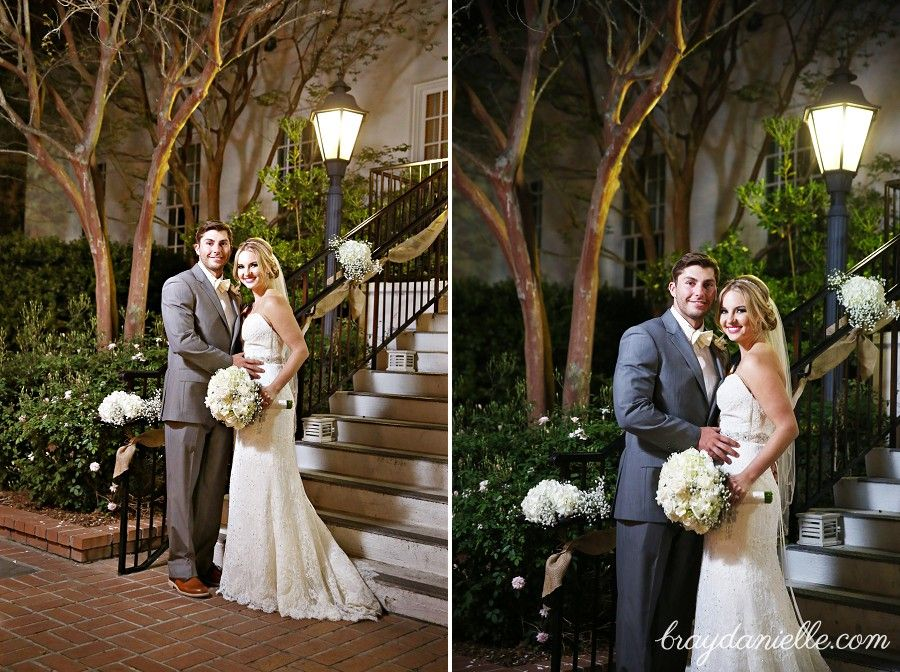 Caitlin Charles Wedding Photography At The Old Governors Mansion In Baton Rouge LA Photographers