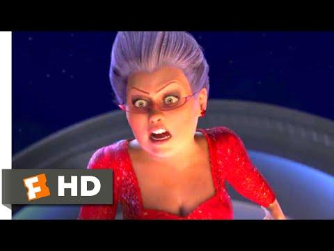 Shrek 2 2004 Fighting The Fairy Godmother Scene 8 10 Movieclips Youtube Shrek Fairy Godmother Save The Last Dance