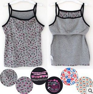 Buy 5pcs/lot Japan OEM 8 16Y young womens cotton cartoon strape tops student girls basic underwear/QD2084 Free shipping from Reliable student underwear suppliers on Sweet Candys Apparel Store