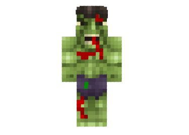 2 Ways To Install Hulk Damaged Skin Minecraft Skins