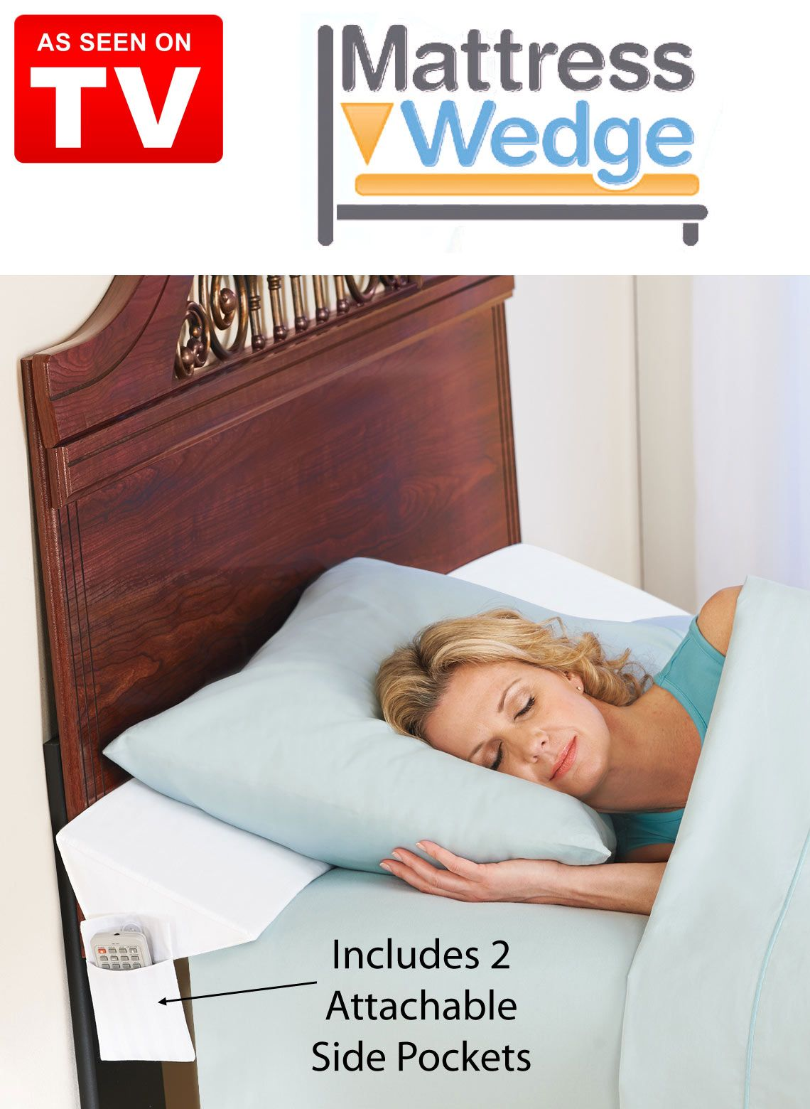 Keep Pillows From Falling Through The Gap Between Your Mattress And Headboard Or Wall