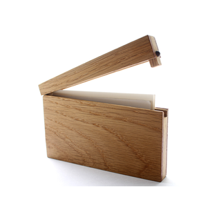 Handcrafted wooden business card case from japanese designer discover the best wooden business card caseml products on dwell colourmoves