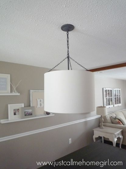 light fixture update for 20, dining room ideas, lighting