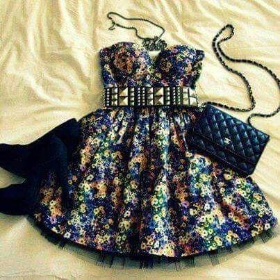 Amo el vestido.