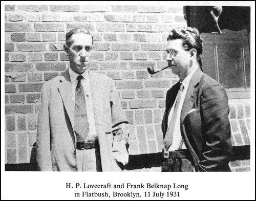 Image result for lovecraft and frank belknap long