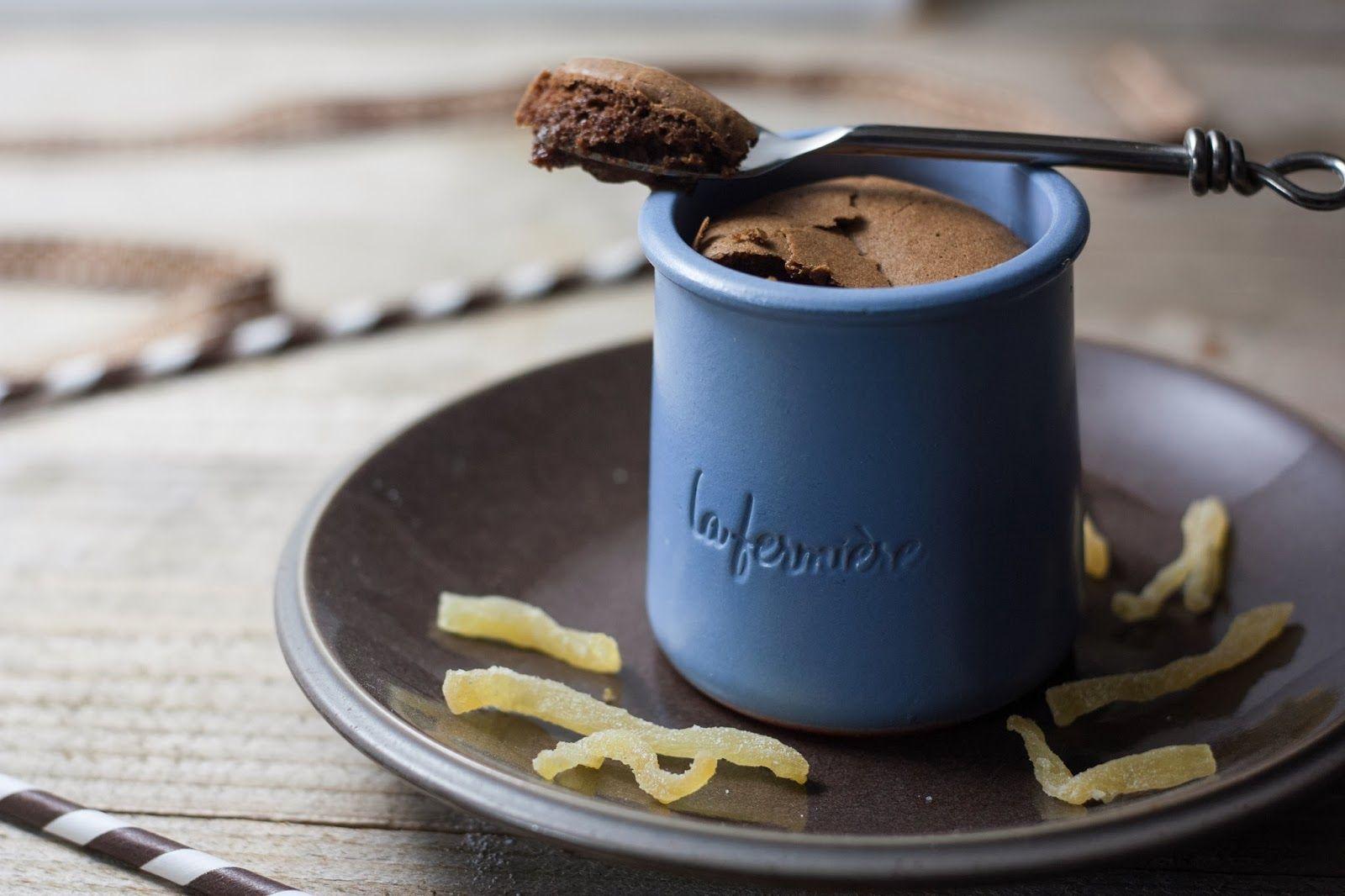Fondant chocolat / gingembre