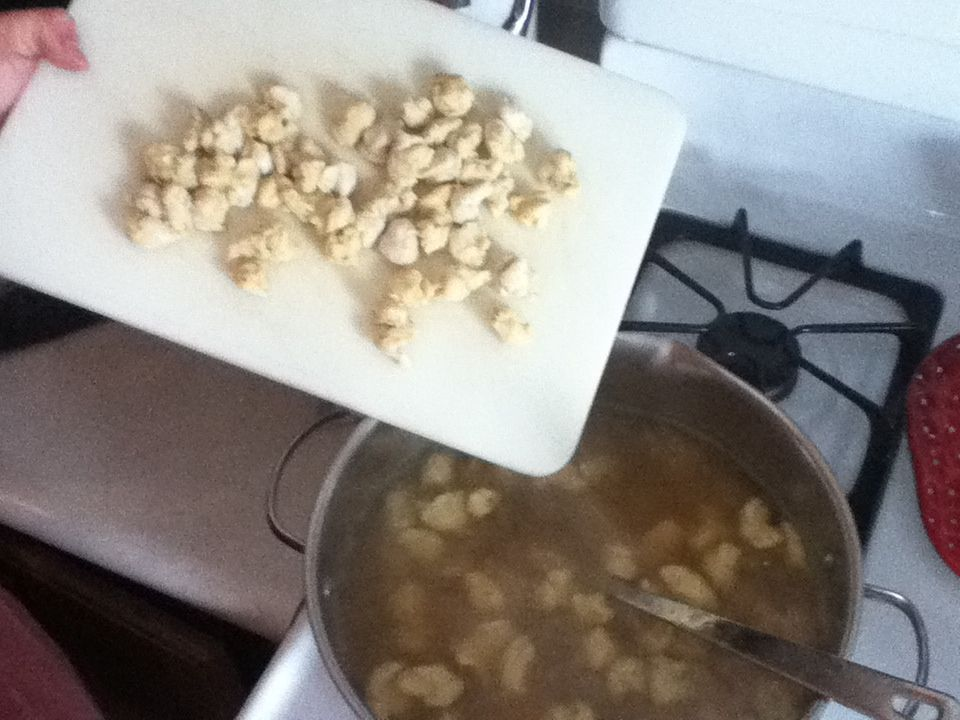 Chicken & Noodle Soup w/ Homemade Noodle Balls