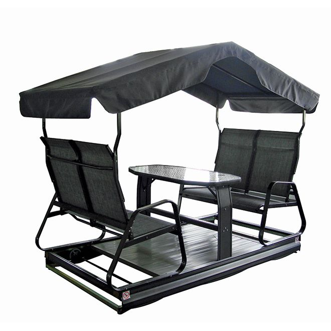 4 Seat Swing On Wheels Balan 231 Oire Sur Roues 4 Places
