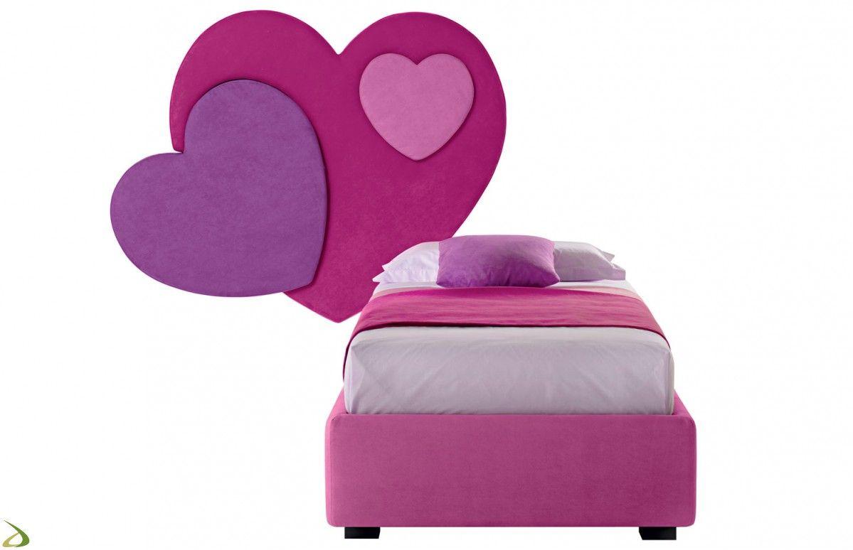 Testiera Per Letto Singolo : Testiera sweety camerette backrest pillow bed e pillows