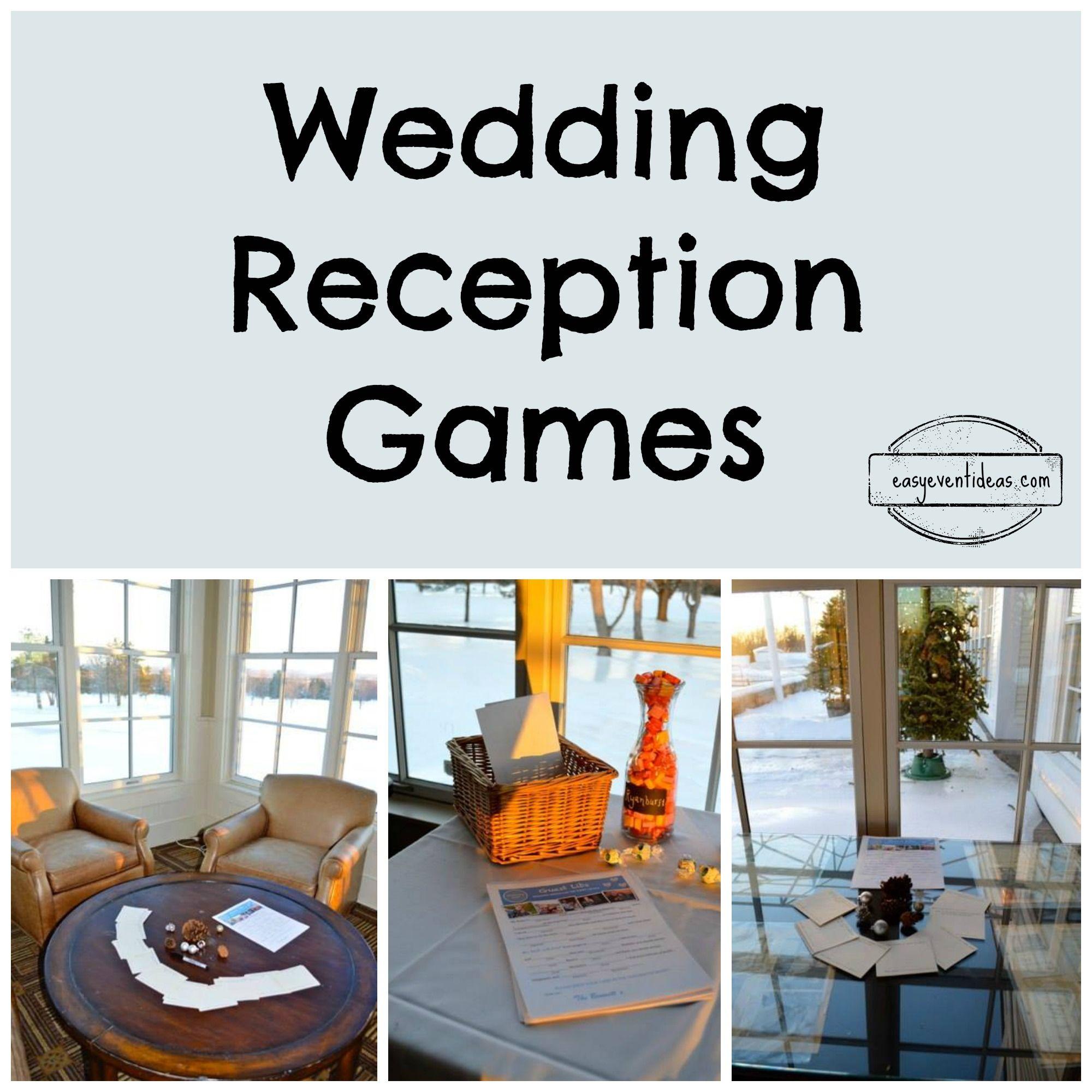 Wedding Reception Games ActivitiesWedding