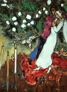 Üç Mum - Marc Chagall