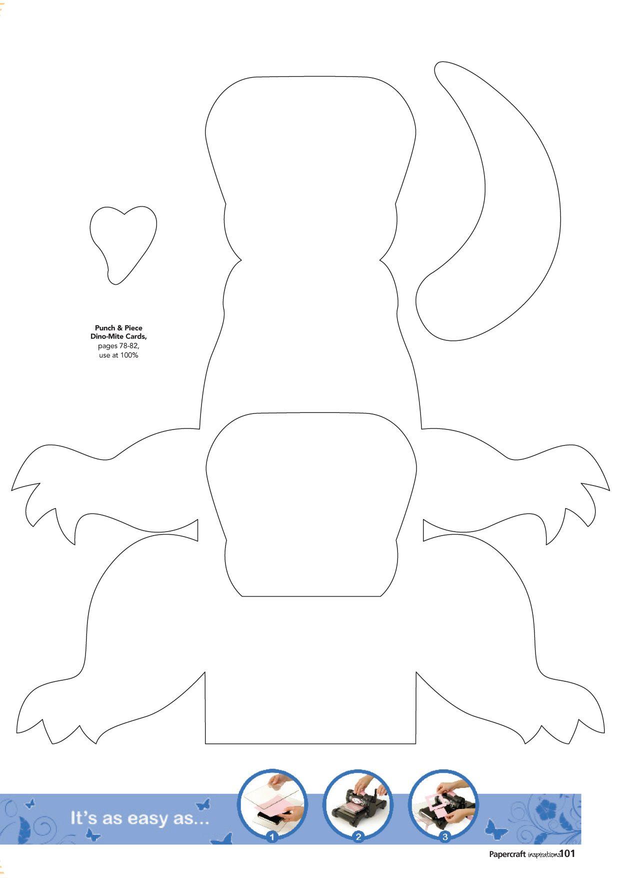 Paper Purse Template | FREE dinosaur gift bag template | Papercraft ...