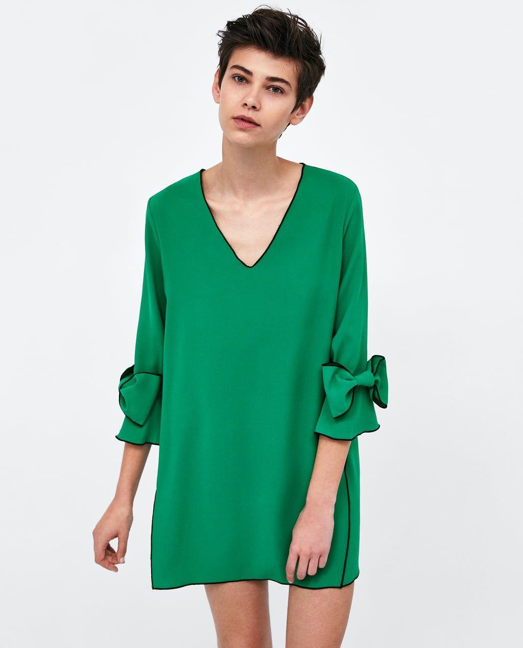 Abiti Eleganti Premaman Zara.Pin Su Vestito Singolare Femminile Corto