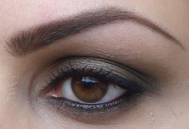 My Beauty Rules: Smokey khaki eye look for deep set eyes using Bobb...