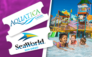 Seaworld Aquatica San Diego 2 Park Combo Ticket Seaworld San Diego Sea World San