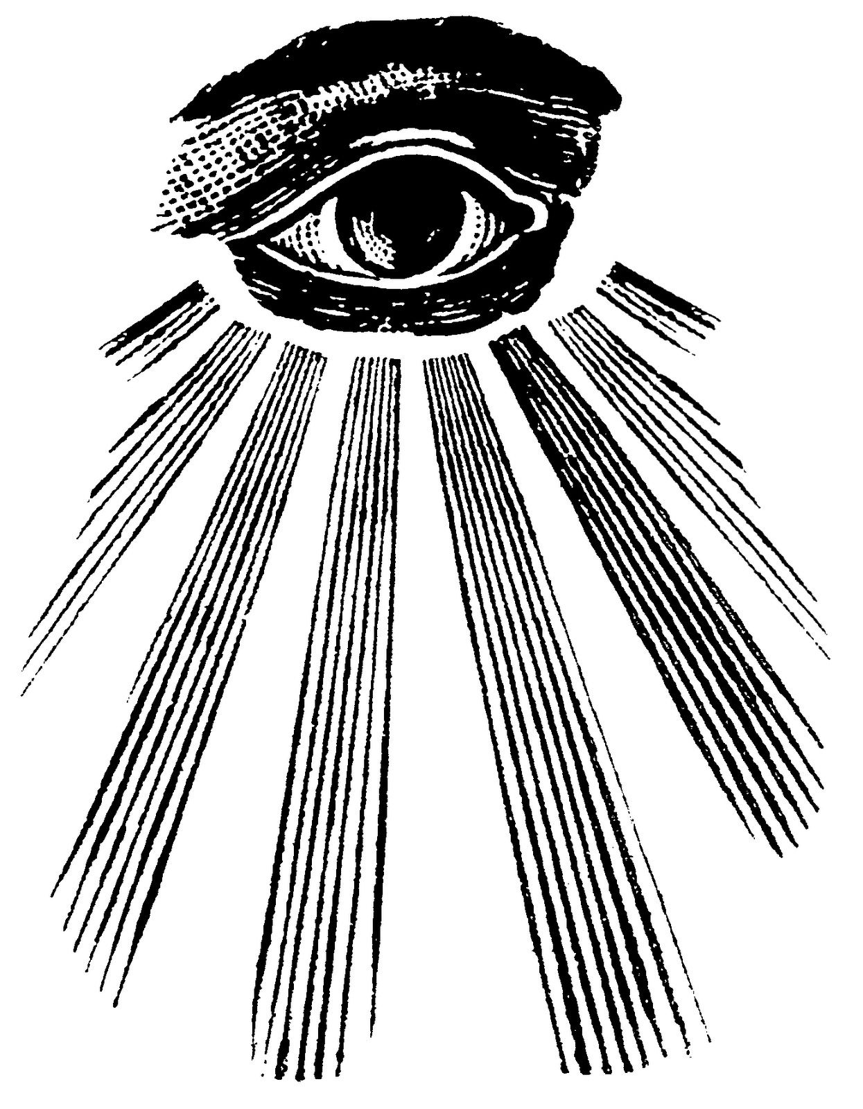 All Seeing Eye Masonic In The Sky Gods Occult