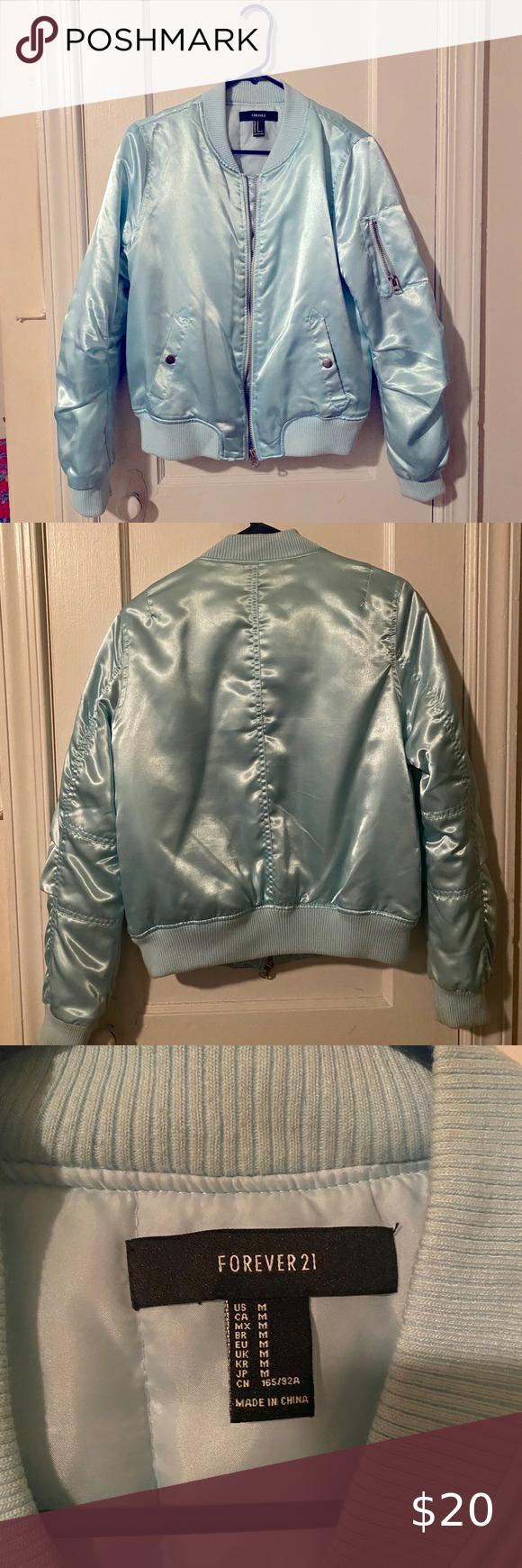 Powder Blue Bomber Jacket Super Pretty For Spring Blue Bomber Jacket Faux Leather Bomber Jacket Olive Green Bomber Jacket [ 1740 x 580 Pixel ]