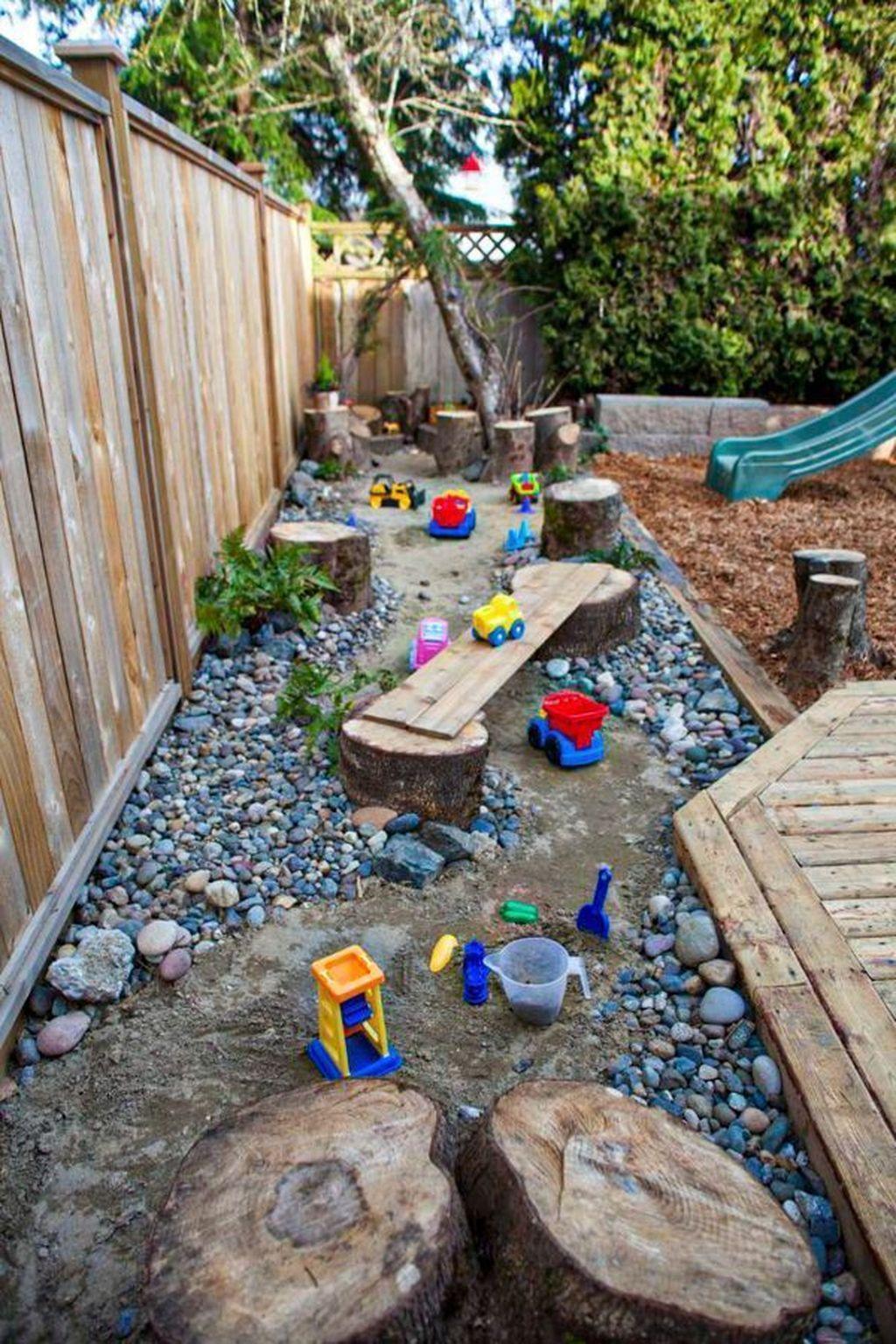 31 Admirable Backyard Playground Design Ideas For Kids Dhoomee Backyard Playground Natural Playground Gardening For Kids