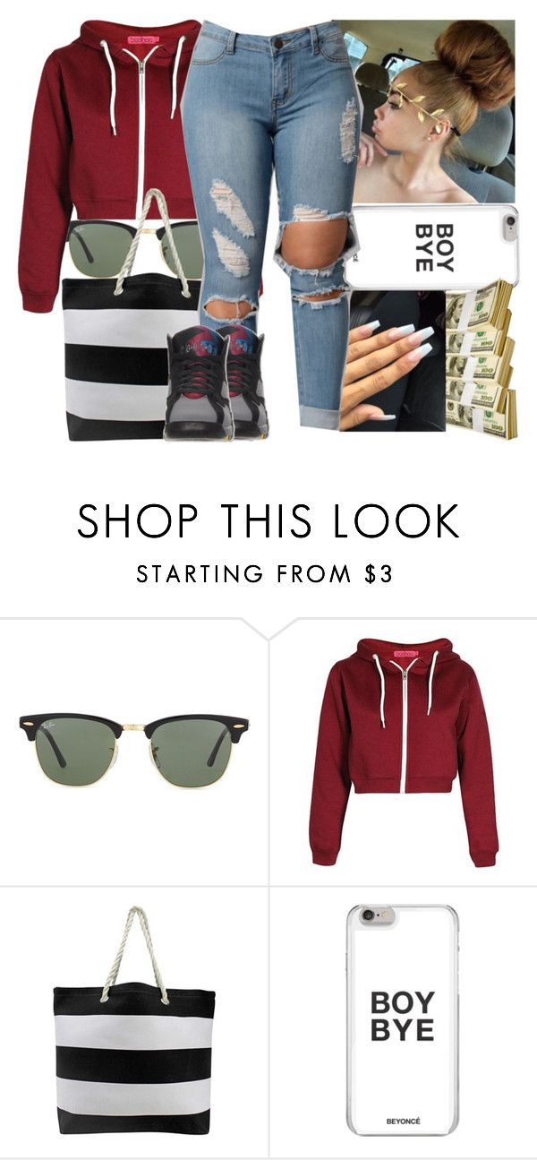 """"" by shortnchick-101 ❤ liked on Polyvore featuring Ray-Ban"