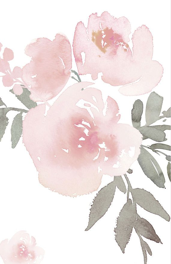 Soft Pink Pastel Floral Wallpaper Mural Traditional Or Etsy In 2021 Floral Wallpaper Watercolor Flowers Mural Wallpaper Fantastic pastel flower wallpaper