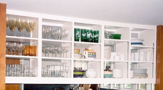 Divider Cabinet Between Dining Room And Kitchen