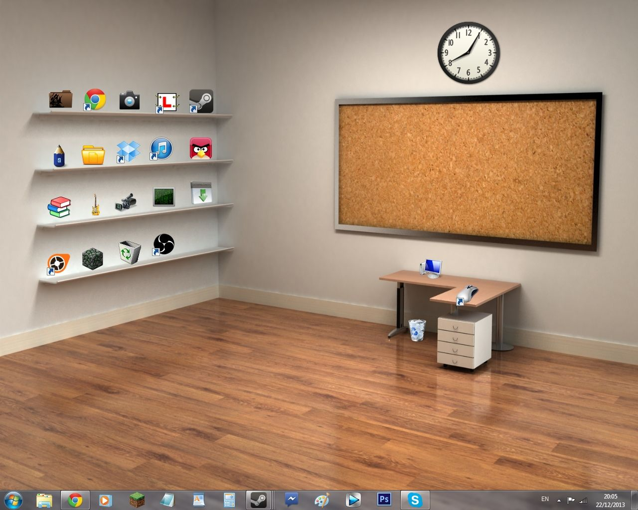Free desktop background with shelves Download - Download ...
