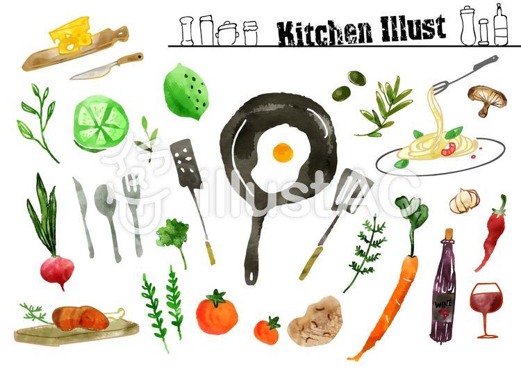 食べ物イラスト おしゃれまとめの人気アイデア Pinterest