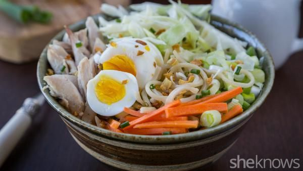 Filipino comfort food done right with this chicken egg noodle soup   Chicken soup recipes. Comfort food. Chicken egg noodle soup