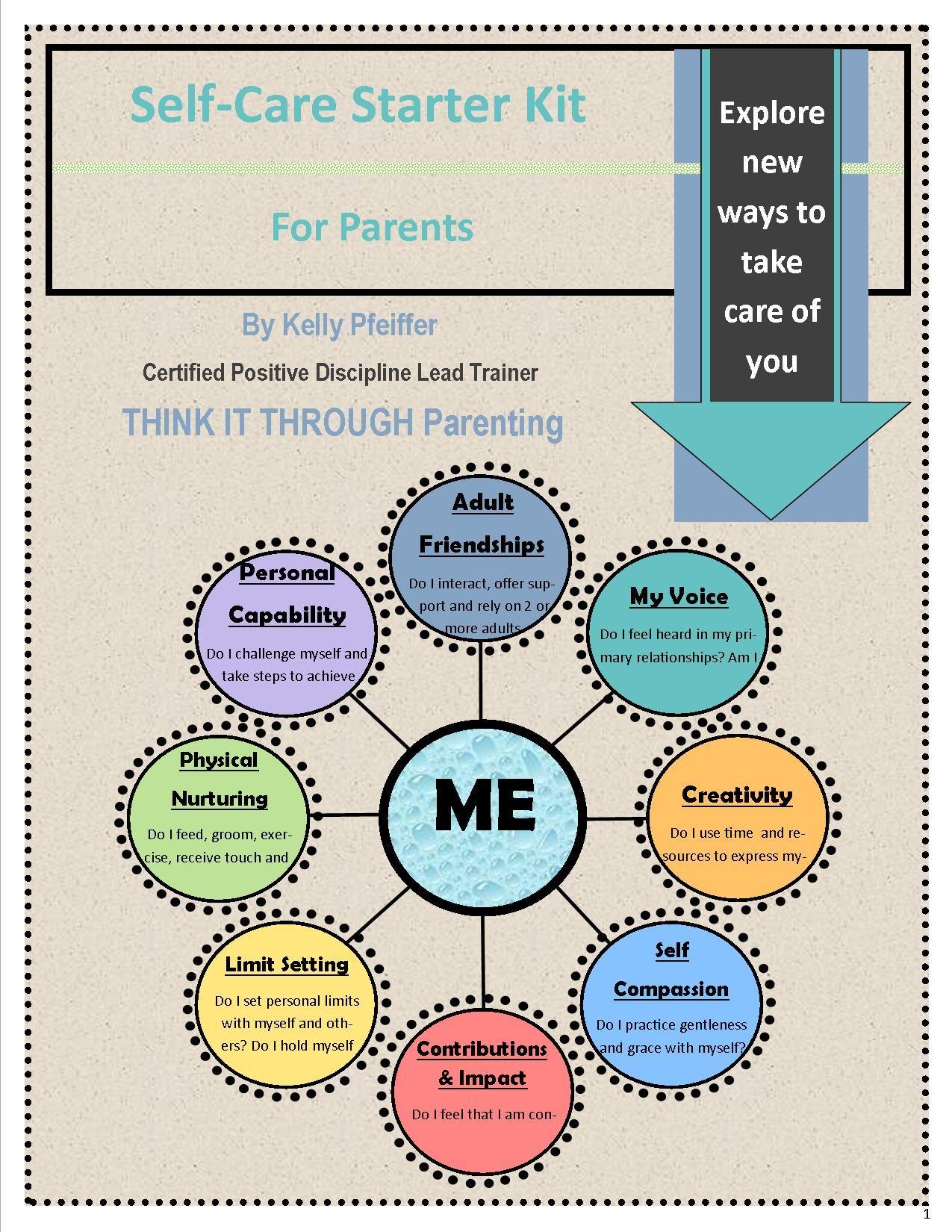 Self Care Starter Kit For Parents