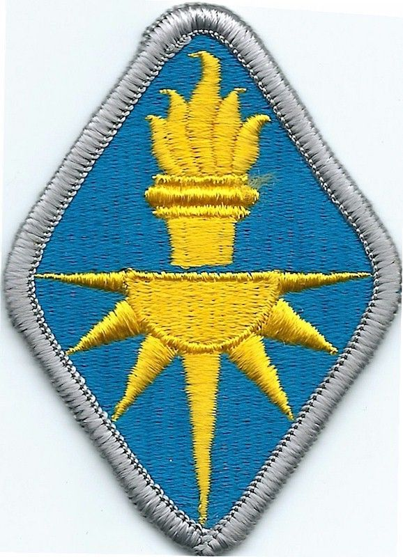 MILITARY PATCH US ARMY COLORED FOR SHOULDER 4TH ARMY